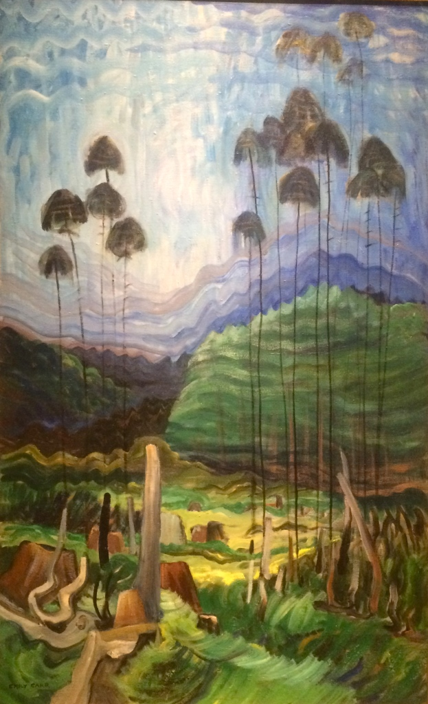 "Emily Carr, ""Scorned as Timber, Beloved of the Sky"""